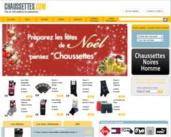 Page d'accueil de Chaussettes