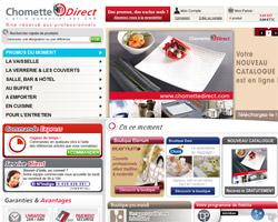 Page d'accueil de Chomette