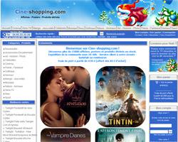 Page d'accueil de Cine-Shopping