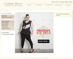 Page d'accueil de Coleen Bow