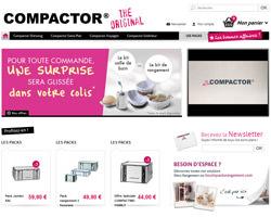 Page d'accueil de Compactor