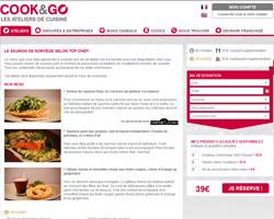 Une fiche produit de Cook and Go