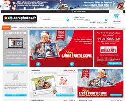 Page d'accueil de Cora Photos
