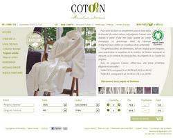 Une fiche produit de Cotoon