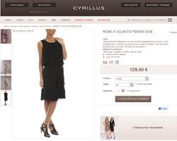 Une fiche produit de Cyrillus