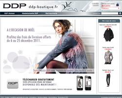 Page d'accueil de DDP