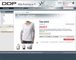 Une fiche produit de DDP