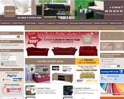 Page d'accueil de Decostock