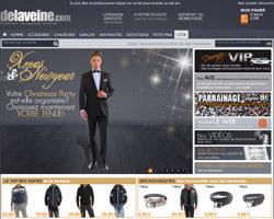 Page d'accueil de Delaveine