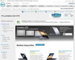 Une fiche produit de Dell