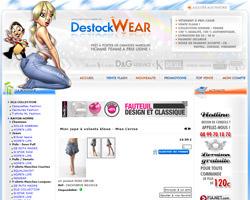 Une fiche produit de Destockwear