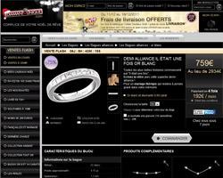 Une fiche produit de Diamant-Unique