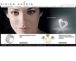 Page d'accueil de Didier Guerin