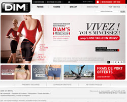 Page d'accueil de Dim