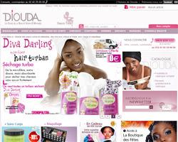 Page d'accueil de Diouda
