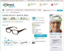 Une fiche produit de Direct Optic