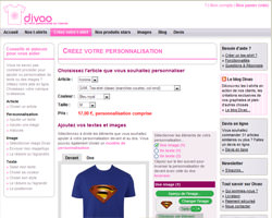 Une fiche produit de Divao
