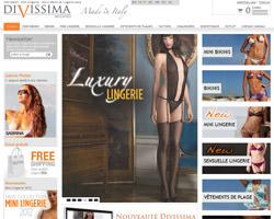 Page d'accueil de Divissima