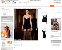 Une fiche produit de Divissima