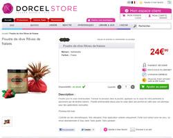 Une fiche produit de Dorcel Store