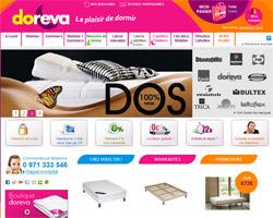 Page d'accueil de Doreva
