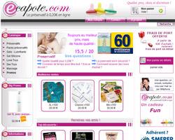 Page d'accueil de ECapote