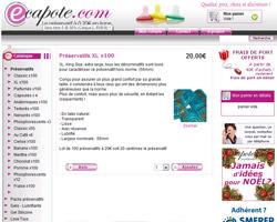 Une fiche produit de ECapote