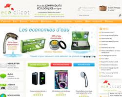 Page d'accueil de Ecoclicot