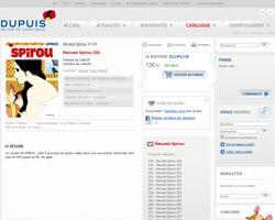 Une fiche produit de Editions Dupuis