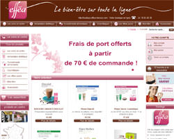 Page d'accueil de Efféa