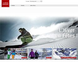 Page d'accueil de Eidershop