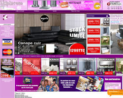 Page d'accueil de Ekipia