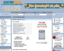 Une fiche produit de Electromalin