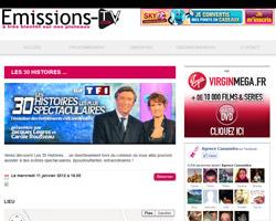 Une fiche produit de Emissions-TV