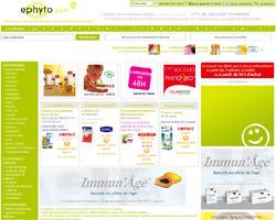 Page d'accueil de Ephyto