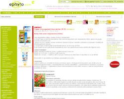 Une fiche produit de Ephyto