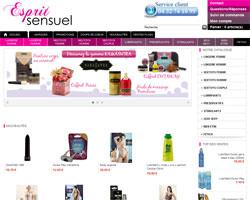 Page d'accueil de Esprit sensuel