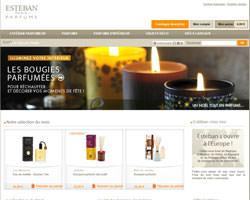 Page d'accueil de Esteban