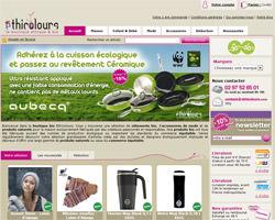 Page d'accueil de Ethicolours