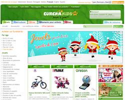 Page d'accueil de Eurekakids