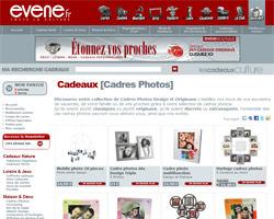 Page d'accueil de Evene