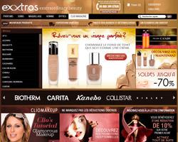 Page d'accueil de Exxtros