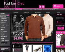 Page d'accueil de Fashion-Chic