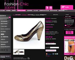 Une fiche produit de Fashion-Chic