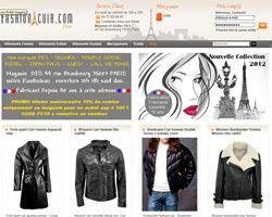Page d'accueil de Fashion Cuir