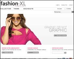 Page d'accueil de Fashion-XL