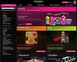 Page d'accueil de Fauchon