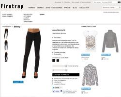 Une fiche produit de Firetrap