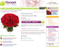Une fiche produit de Florajet