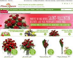 Page d'accueil de FloraQueen